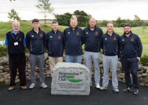 GolfKings Scottish Men's Area Team Championship. Newmachar Golf Club. Pictured is the Border Golfers Association team.